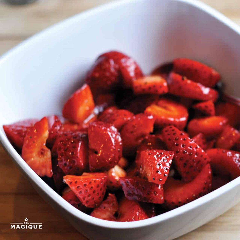 Strawberries Magique Recipe