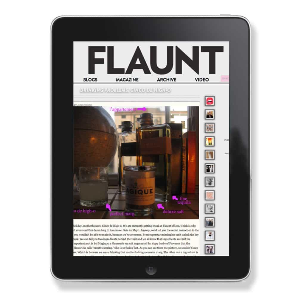 FLAUNT - Press
