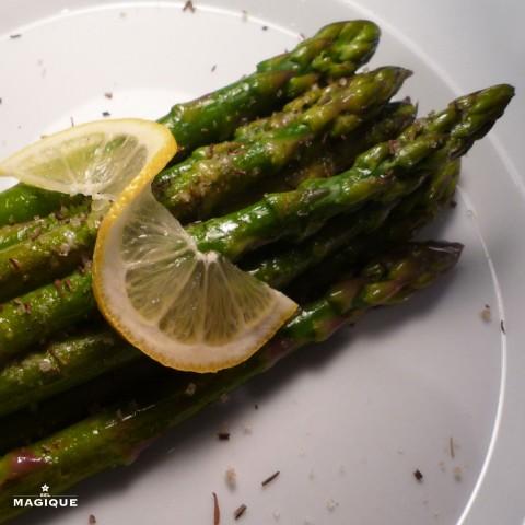 Sel Magique Asparagus Recipe