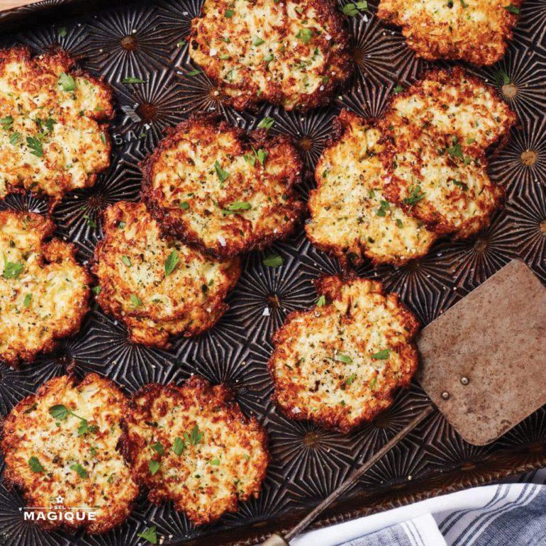 Cheese & Cauliflower Toast