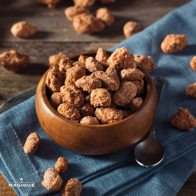 Vanilla & Cinnamon Candied Nuts