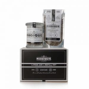 Gourmet Salt Blend - Large Jar+Refill Set