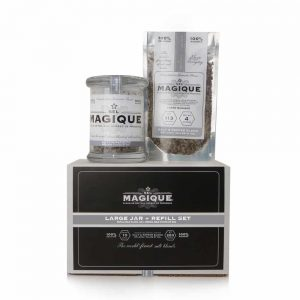 Salt & Pepper Blend - Large Jar with Refill Set