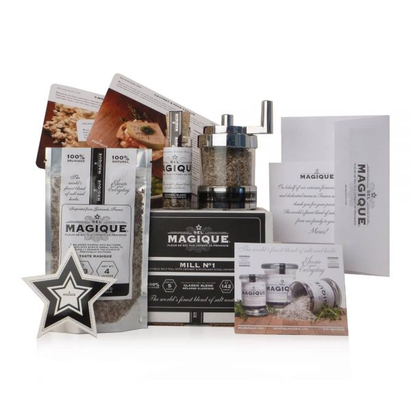 Sel Magique - Mill Set - Classic Salt Blend