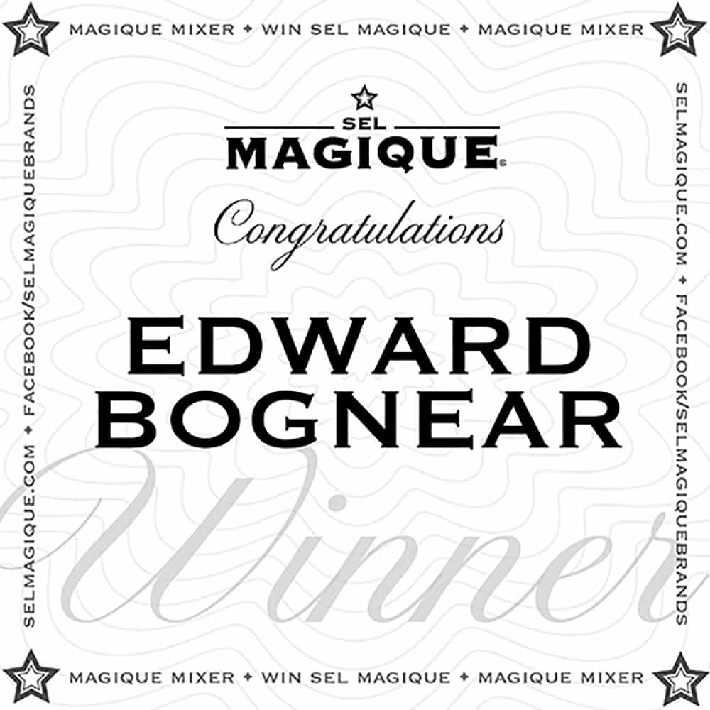 Magique Mixer Winner Edward Bognear