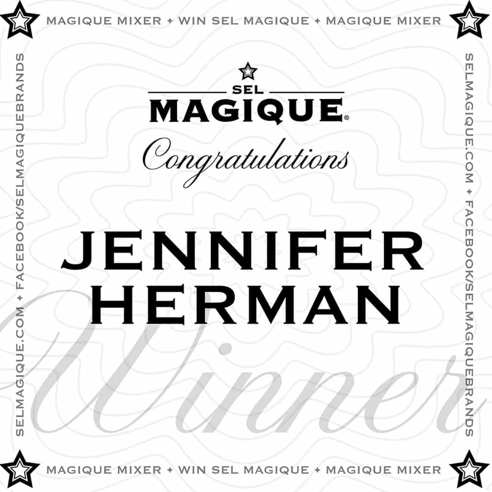 Magique Mixer Winner Jennifer Herman