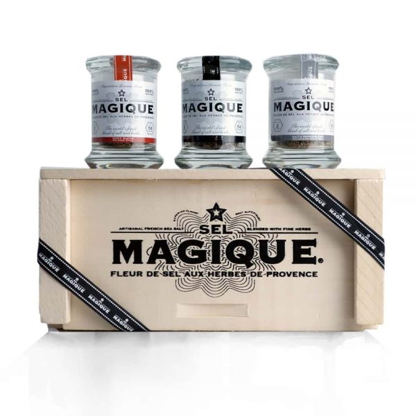 Sel Magique - Finest Salt Blends - Spicy Blend, Gourmet Blend, Salt and Pepper Blend