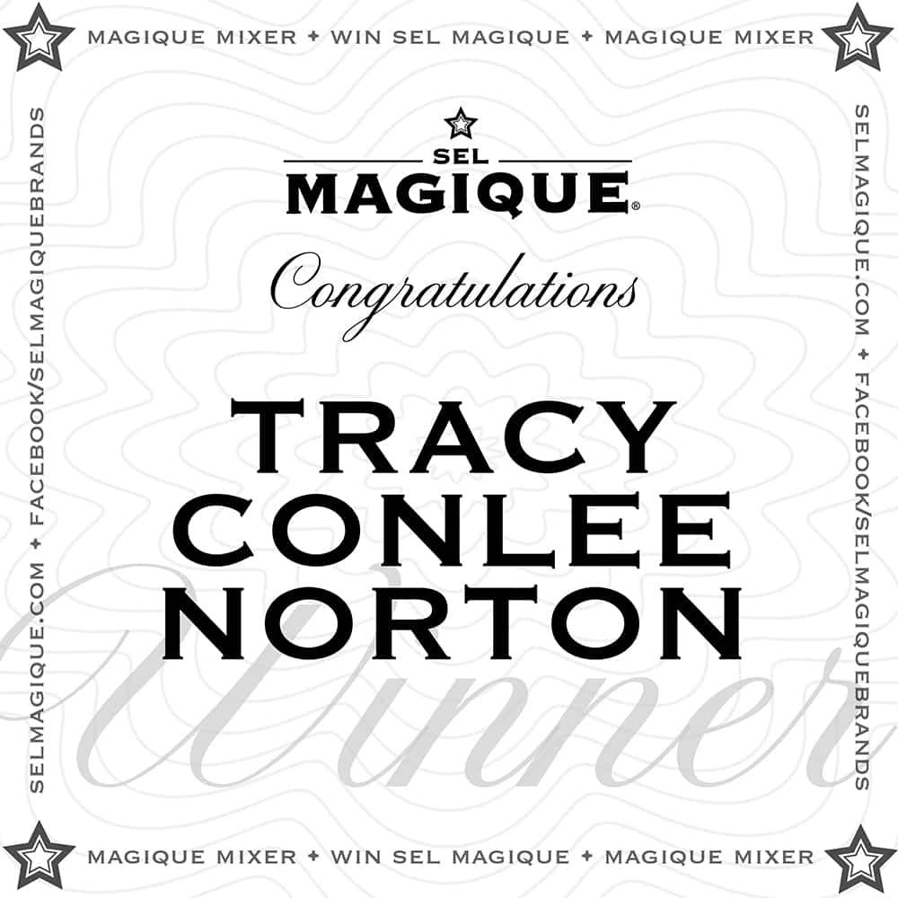 Magique Mixer Winner Tracy Conlee Norton