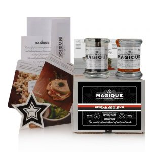 Gourmet Salt Blends (classic and spicy) - Jar Duo