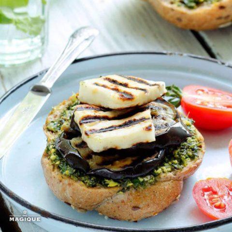 Eggplant burger v2