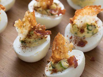 Jalapeño Popper Deviled Eggs