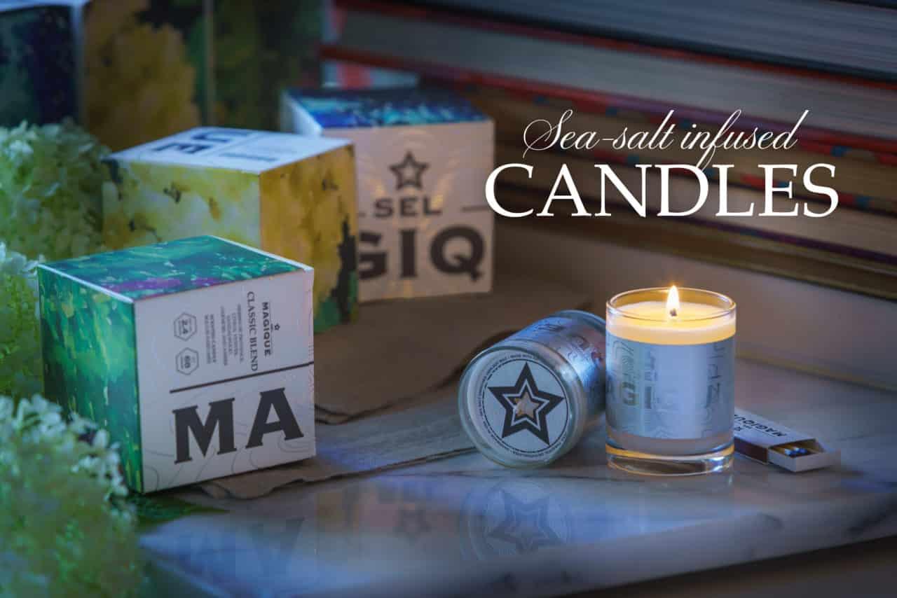 Sel Magique - Candles
