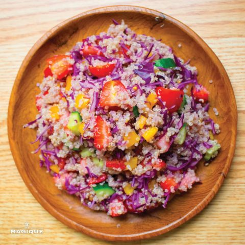 PURPLE QUINOA SALAD