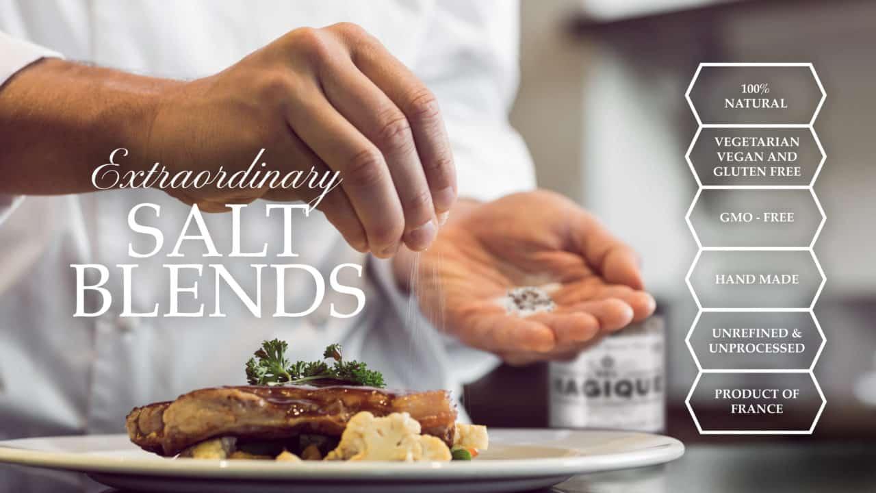 Sel Magique Salt Blends - chef