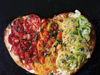 GRILLED HEIRLOOM PIZZA