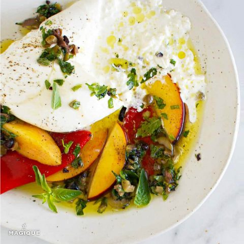 RECIPE HERO burrata