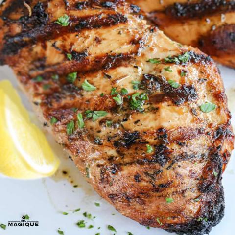 grilled marinated chicken 1000